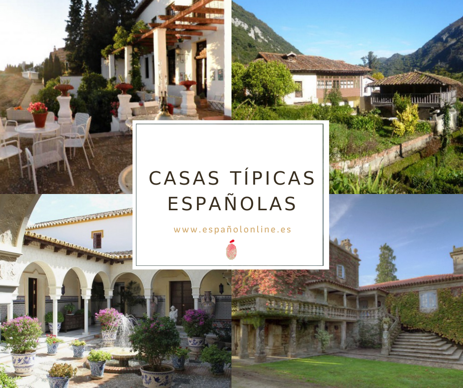Casas típicas de España